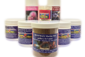 REEFMAX Additives and Fish & Coral Food